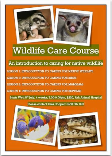 Wildcare course