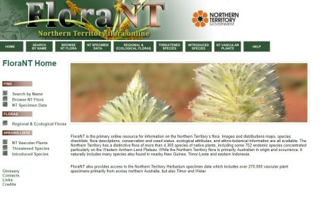 NT flora page